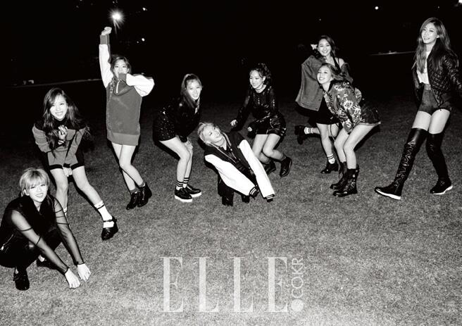 TWICE_ファッション雑誌「ELLE」2015年11月号グラビア1